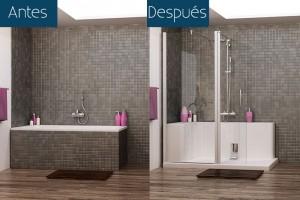 Razones para cambiar una bañera por una ducha 1